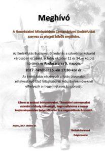 Centenáriumi Emlékfutás 2017. 10. 15.